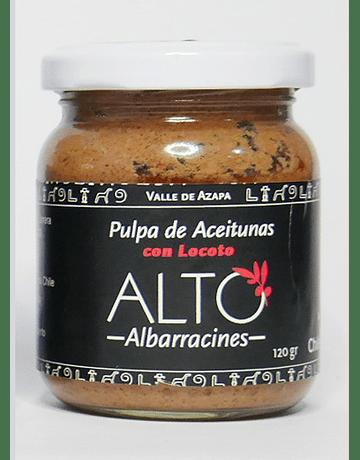 Pulpa de Aceitunas con Locoto
