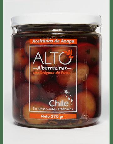 Aceitunas de Azapa al Orégano