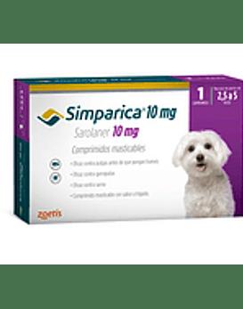 Simparica  Perros  1 comprimido 2,6 - 5 Kg