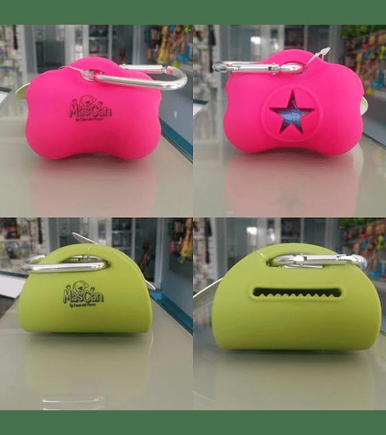 Dispensador  bolsas fecas de perro