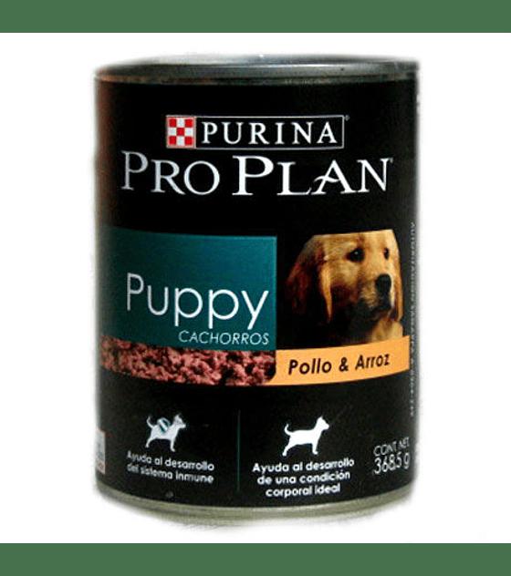 Lata Proplan Puppy Pollo & Arroz  368,5 grs