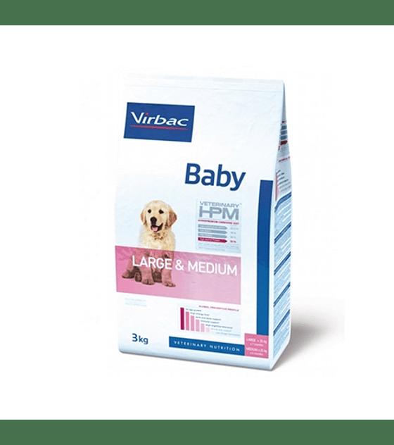 HPM Dog Virbac Baby Large & Medium  12 Kg