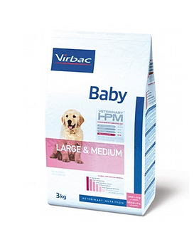 HPM Virbac Baby Large & Medium  12 Kg