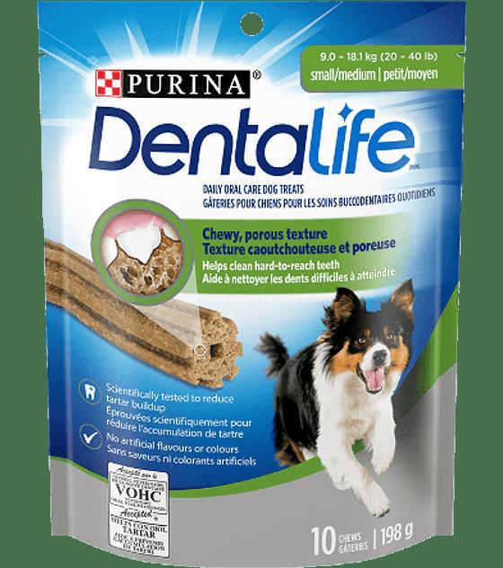 Dentalife Perros Pequeños  y Medianos, 10 unidades