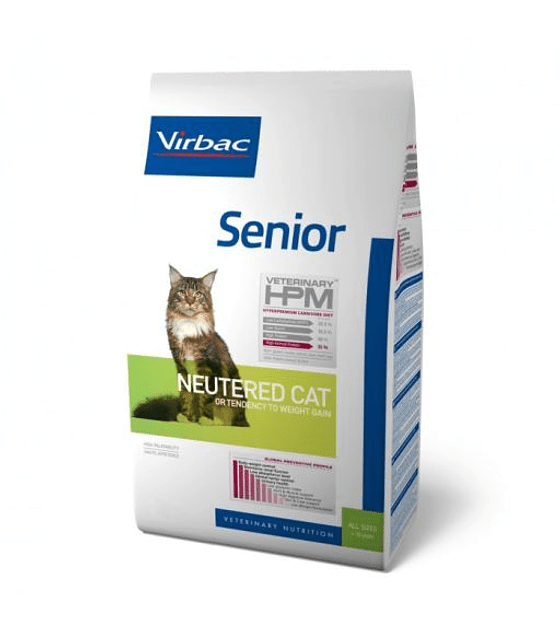 HPM Virbac Senior Neutered Cat, 1,5 Kg