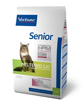 HPM Cat Virbac Senior Neutered 1,5 Kg