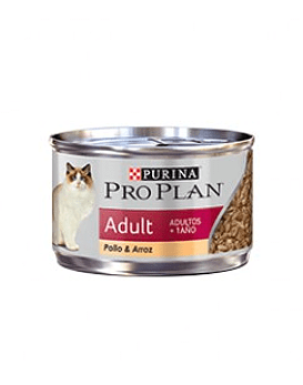 Lata Proplan Adulto Pollo & Arroz, 85 grs