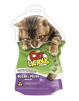 Cat Licious Bola de Pelos,  40 grs