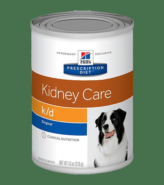 Lata Prescription Diet k/d Canine, 370 grs