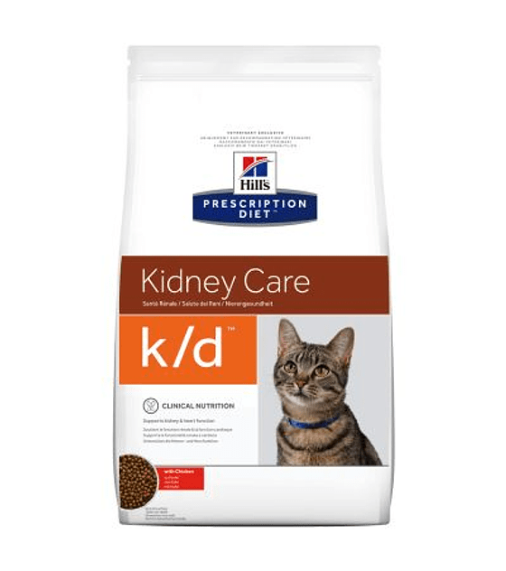 Prescription Diet  k/d™ Feline with Chicken, 1,5 Kg