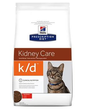 Prescription Diet  k/d™ Feline with Chicken, 1,5 Kg