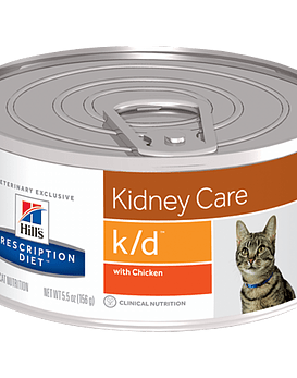 Prescription Diet  k/d™ Feline with Chicken, 156 grs