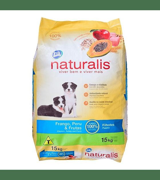 Naturalis  Cachorros Pollo, Pavo y Frutas, 2 Kg