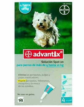 Advantix Perros 4 - 10 Kg