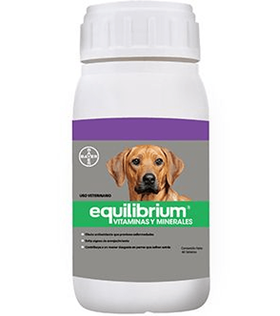 Equilibrium Vitaminas  y Minerales, 60 comprimidos