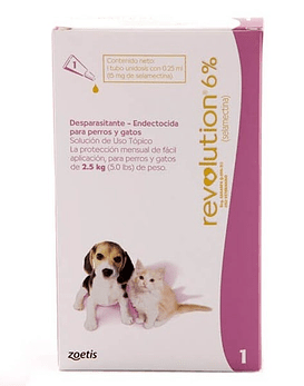 Revolution Perros y Gatos hasta 2,5 Kg