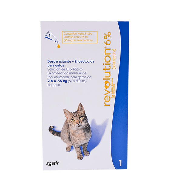 Revolution Gatos Hasta 7,5 Kg