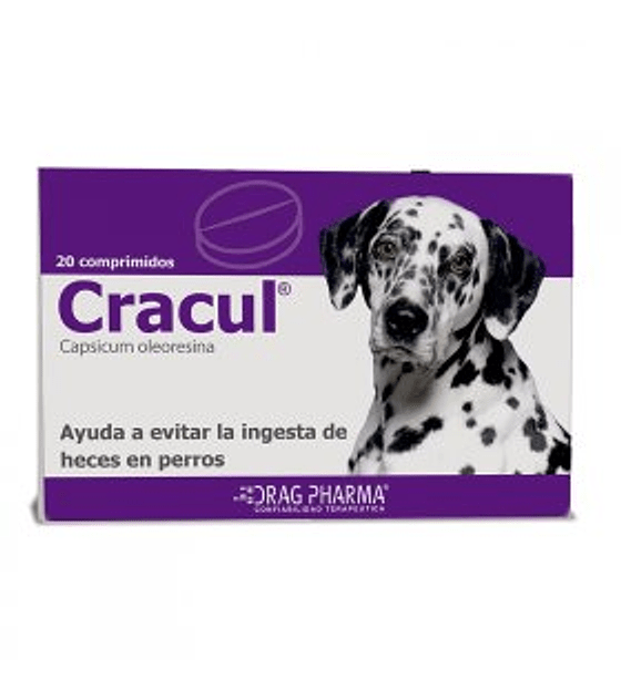 Cracul, 20 comprimidos