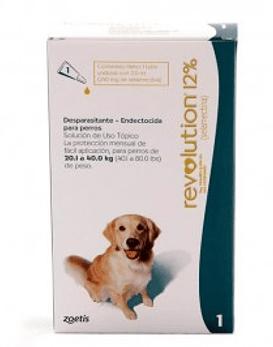 Revolution Perros hasta 40 Kg