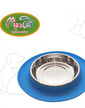 Plato silicona gato