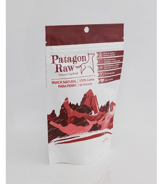 Patagon Raw Vacuno, 40 grs