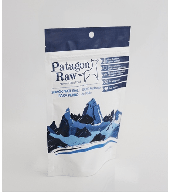 Patagon Raw Pollo, 40 grs
