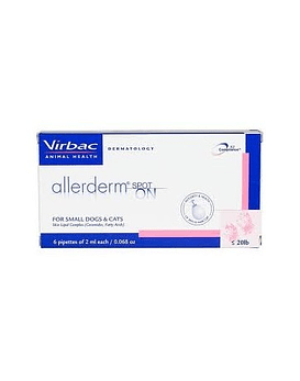 Allerderm spot on, 6 pipetas