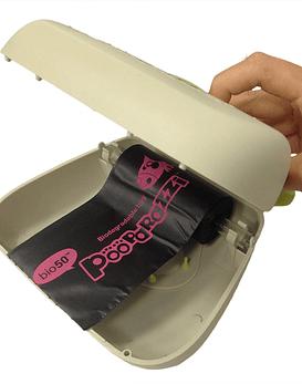 Cartera recogedor de desechos