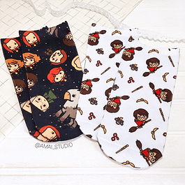 CALCETINES HARRY POTTEE CHIBI