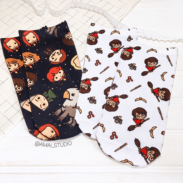 CALCETINES HARRY POTTER CHIBI