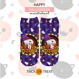 CALCETINES SNOOPY WITCH