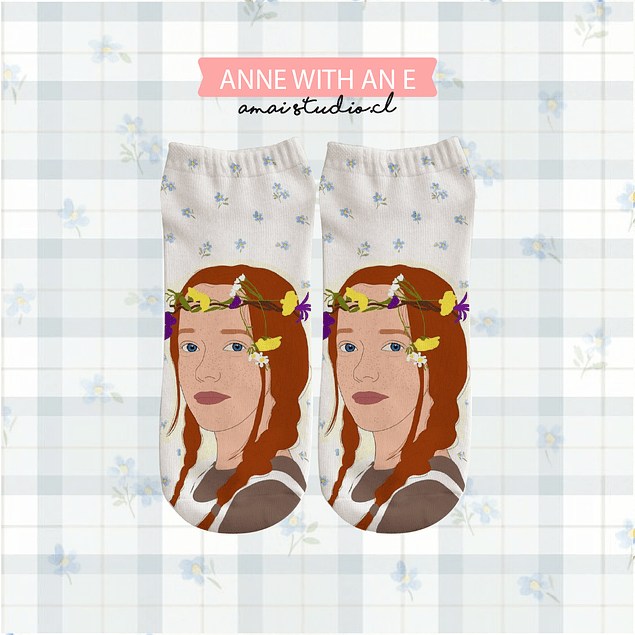 CALCETINES ANNE SHIRLEY