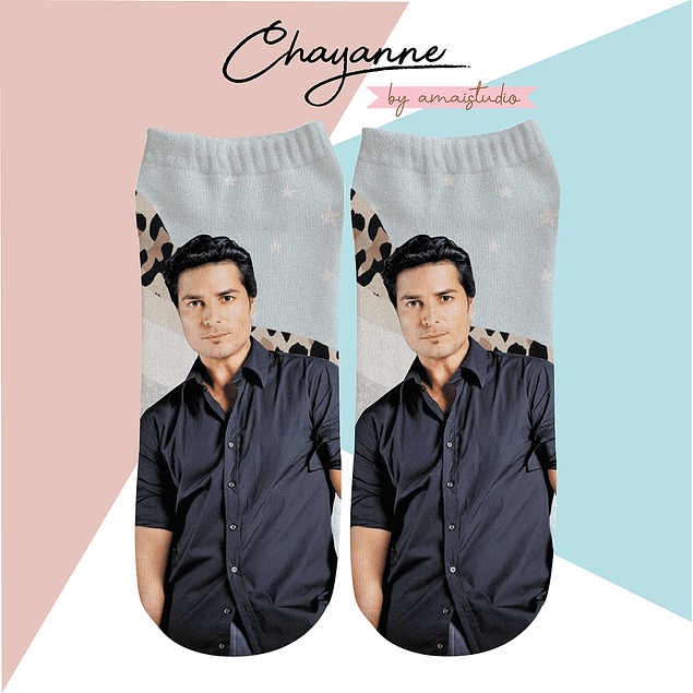 CALCETINES CHAYANNE PRINT