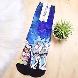 Calcetas Largas Rick y Morty ojos
