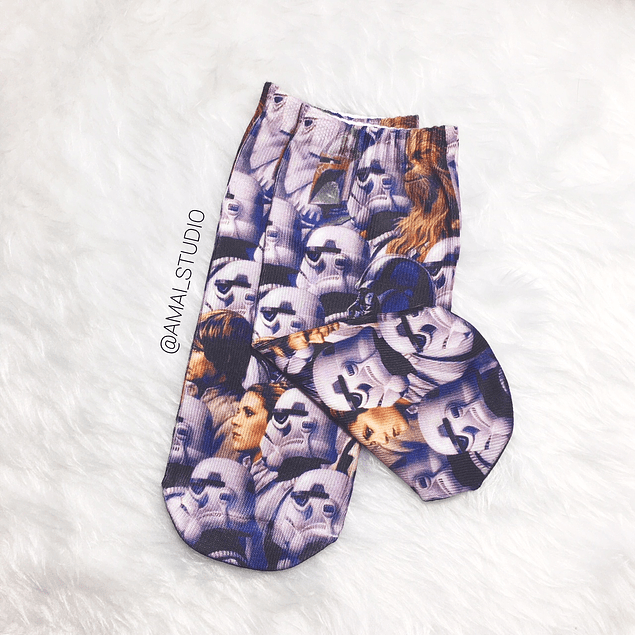 CALCETINES STAR W PERSONAJES