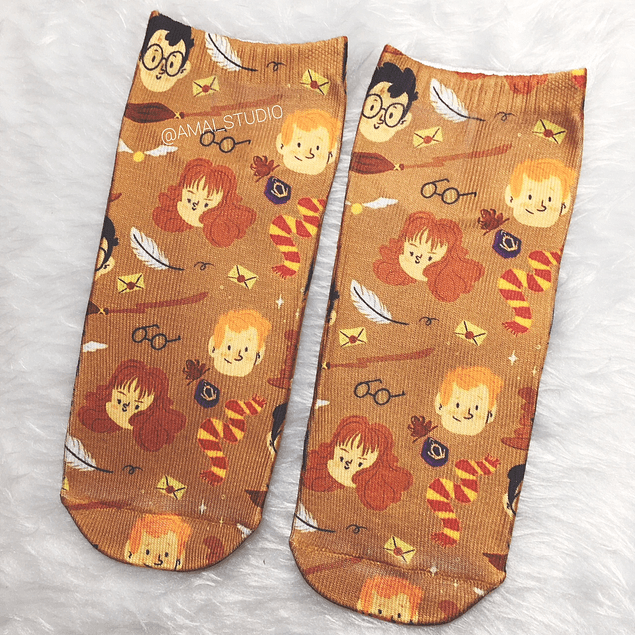 CALCETINES HARRY PATTERN