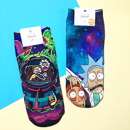 CALCETINES RICK Y MORTY