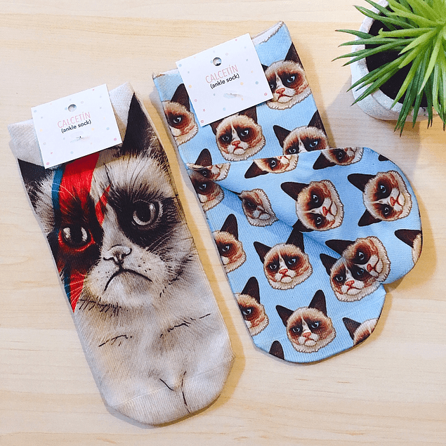CALCETINES GRUMPY CAT