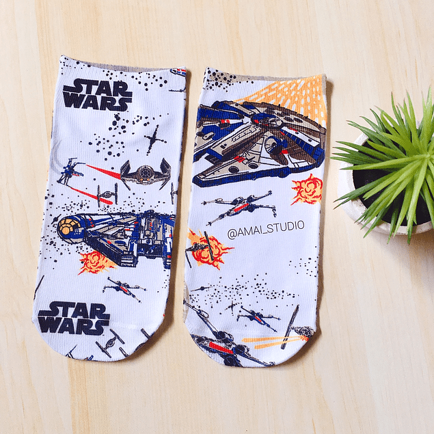 CALCETINES NAVES STAR WARS