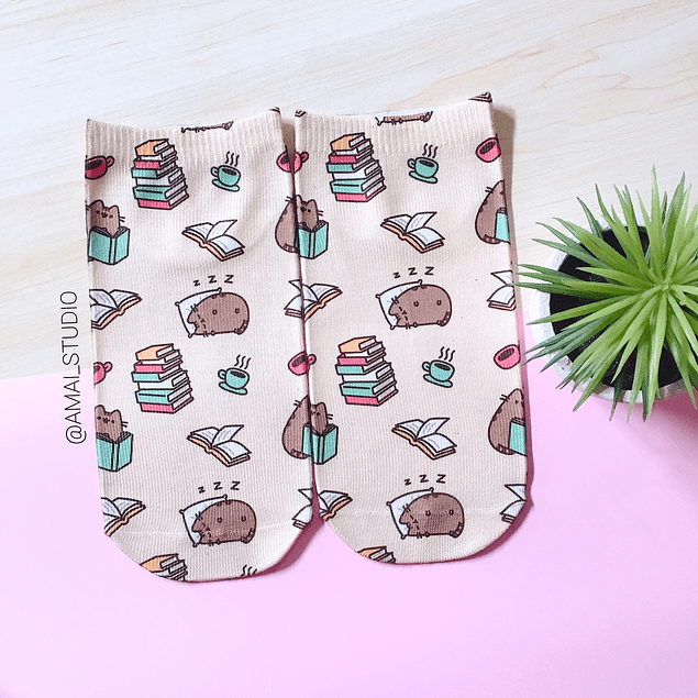 CALCETINES PUSHEEN ESTUDIO