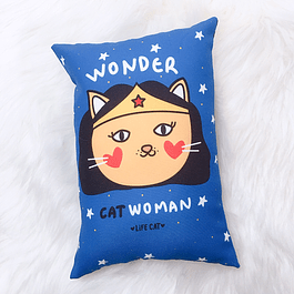 Cojín Deco Wonder Cat