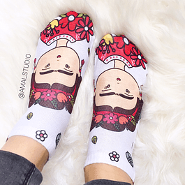 CALCETINES FRIDA  KAHLO