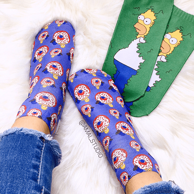 CALCETINES HOMERO SIMPSON