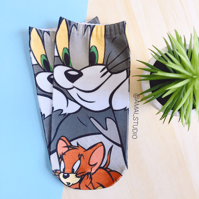 CALCETINES TOM Y JERRY