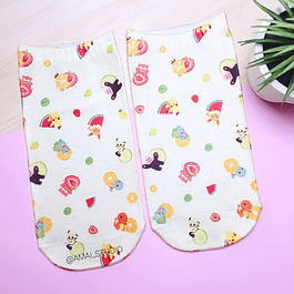CALCETINES POKEMON FRUTAS