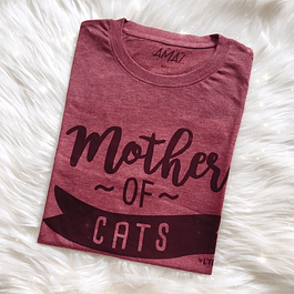 POLERA MOTHER OF CAT