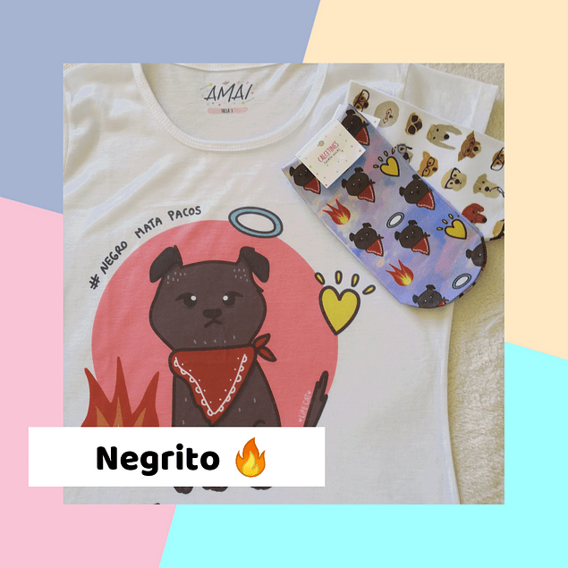 PACK NEGRITO