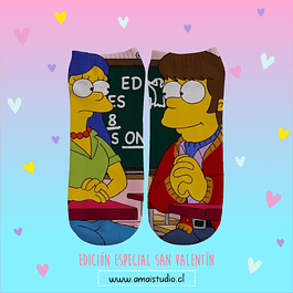 CALCETINES HOMER & MARGE