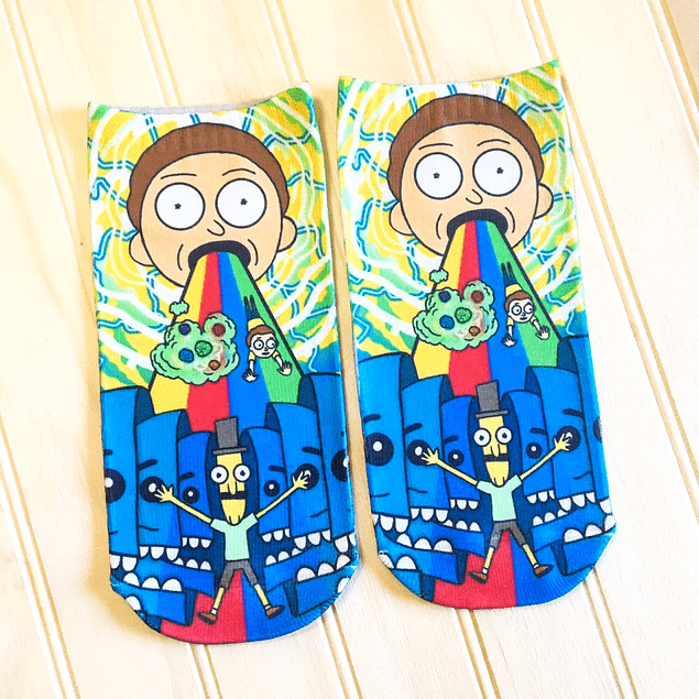 CALCETINES MORTY ARCOIRIS