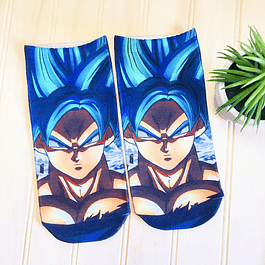 CALCETINES GOKU BLUE